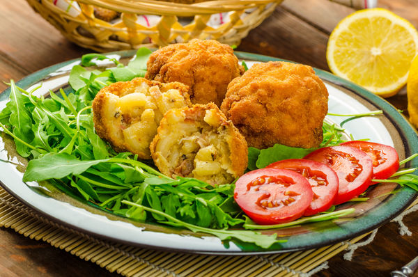 Feel Like A Kid Again With These Bite-Sized Snacks - Fried Macaroni Balls!