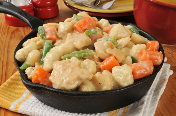 In A Soup, In A Casserole...Doesn't Matter As Long As We Get Our Chicken And Dumplings!