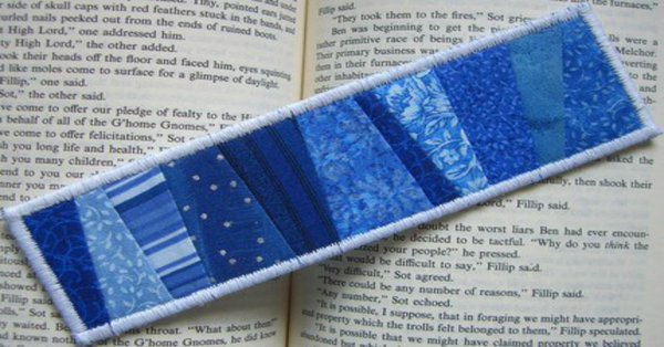 Use Up Your Scraps And Turn 'Em Into An Adorable, Handy Bookmark!!