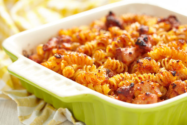 Tired Of The Same Old Pasta Dishes?? This BBQ Bake Really Spices Things Up!!