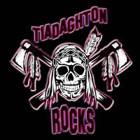 Tiadahgton rocks logo black