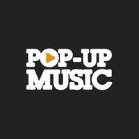 Pop up music logo