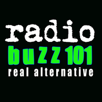 Radio buzz 101 logo black