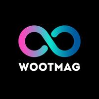 Logo wootmag cuadrado fondonegro