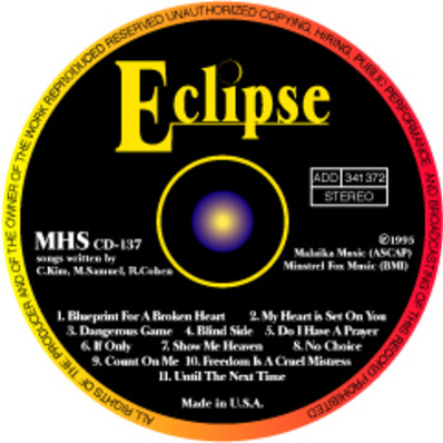Eclipse cd label m
