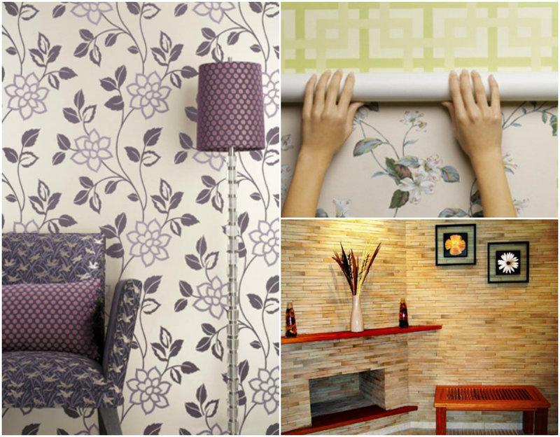 papel de parede decoracao de interiores: papel de parede na decoração