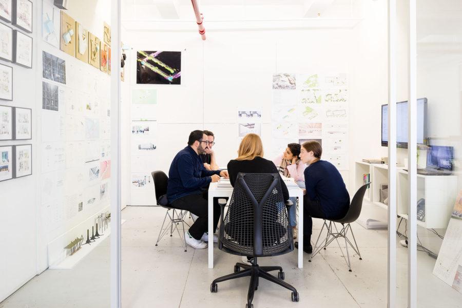 Scenes at Büro Koray Duman in New York