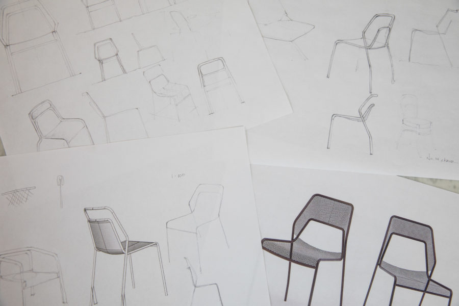 Designing the Hot Mesh Chair