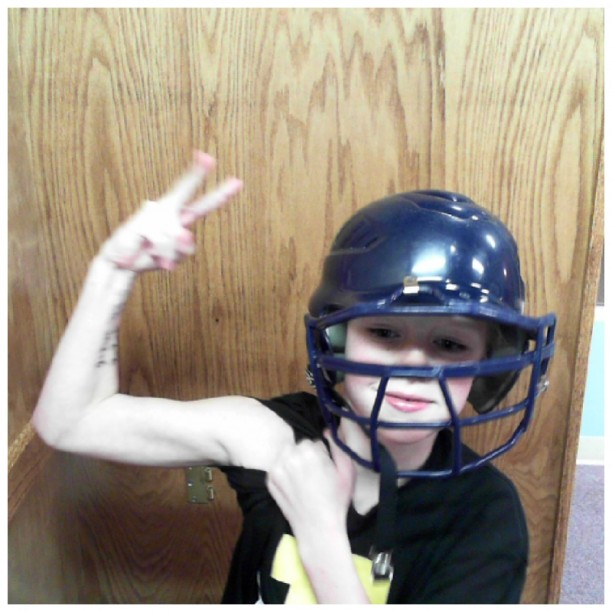 crazy baseball player