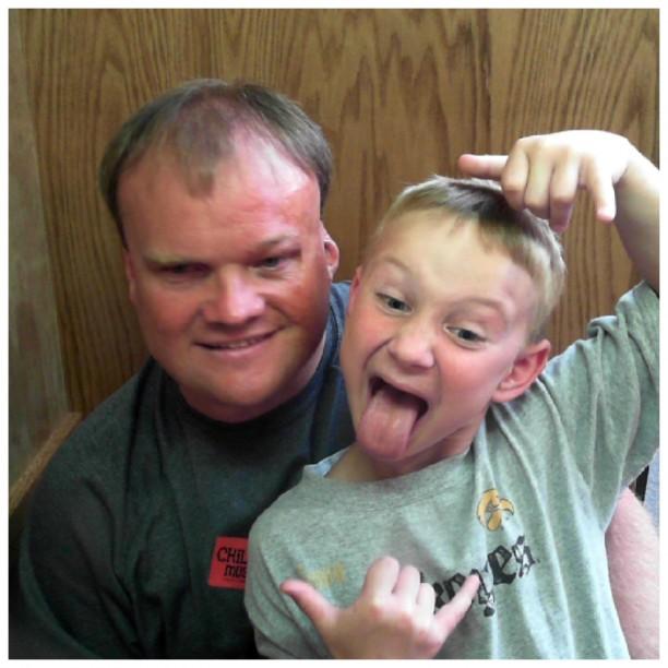 Hayden + Dad