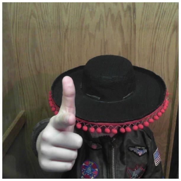 mystery hat man