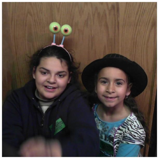 prank and Alejandra