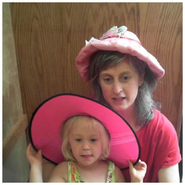 Hana and Mama