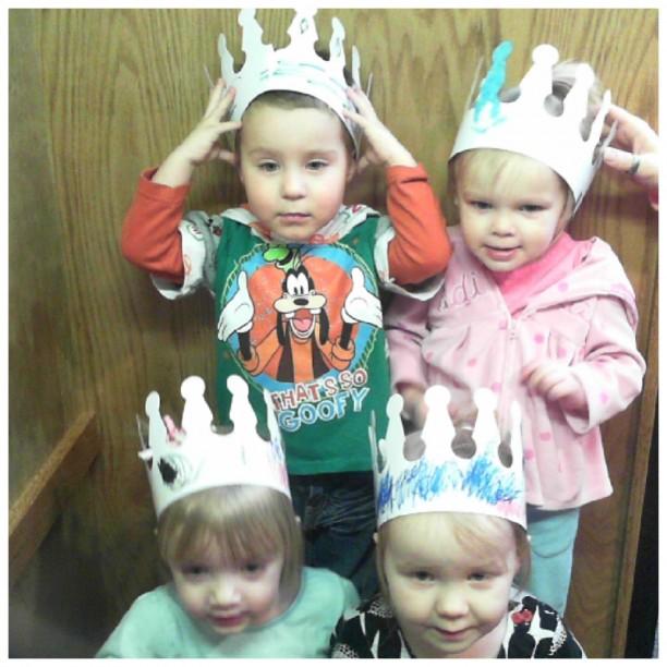 Chloe, Landon, Lauren and Kinsley