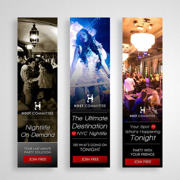 Host Committee Ad Banners