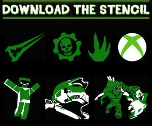 Free-Xbox-Pumpkin-Carving-Stencils