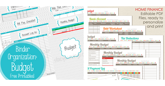 budget-sheets