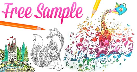 FREE Enchanted Forest Adult Coloring Book