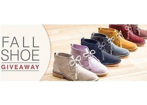 fall shoe
