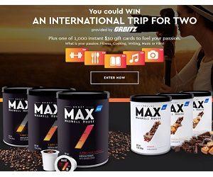 maxx sweepstakes