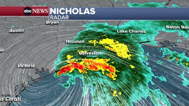 Tropical Storm Nicholas updates: Heavy rain slams Texas, Louisiana