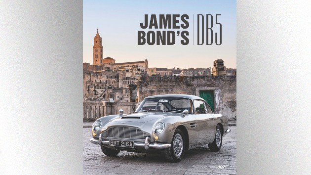 Now you can own James Bond's DB5 — the book, that is
