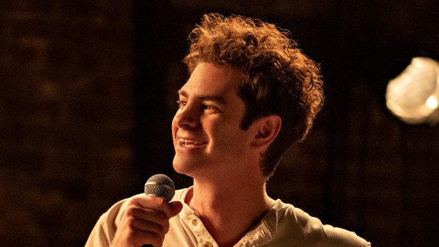 """Andrew Garfield details the """"amazing, beautiful way"""" he honored his late mother with musical film 'Tick Tick… Boom!'"""