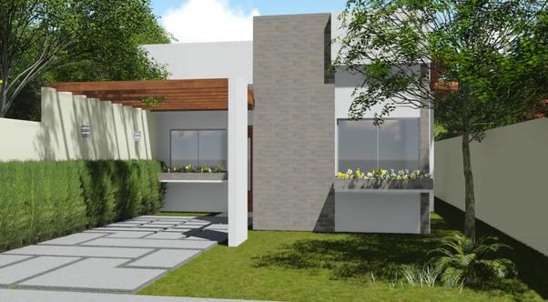 Planta de casa terrea 1