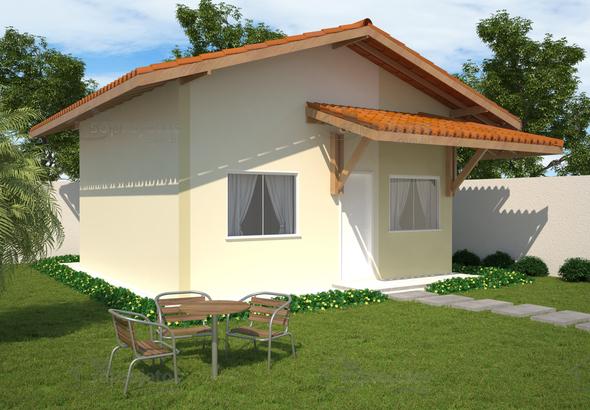 Casa popular cod100 2quartos