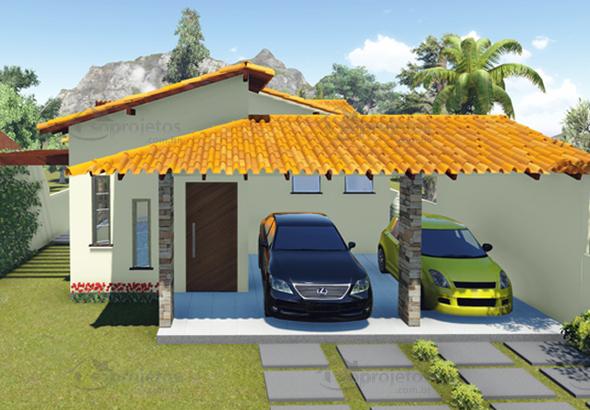 Projeto de casa terrea 02 102