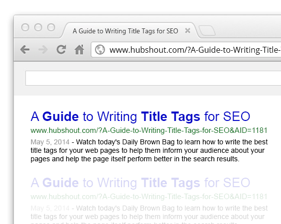 A Guide to Writing Title Tags for SEO
