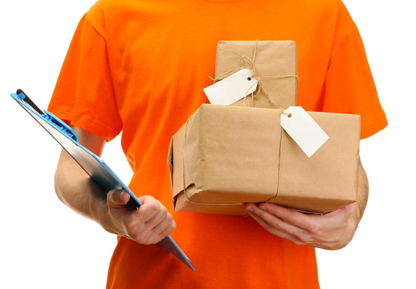 Заказ курьера для доставки подарка