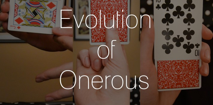 Evolution of Onerous