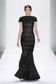 #3 EMBROIDERED BANDED LACE CAP SLEEVE CIRCULAR SKIRT GOWN