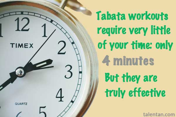 4 Minute Tabata Workouts