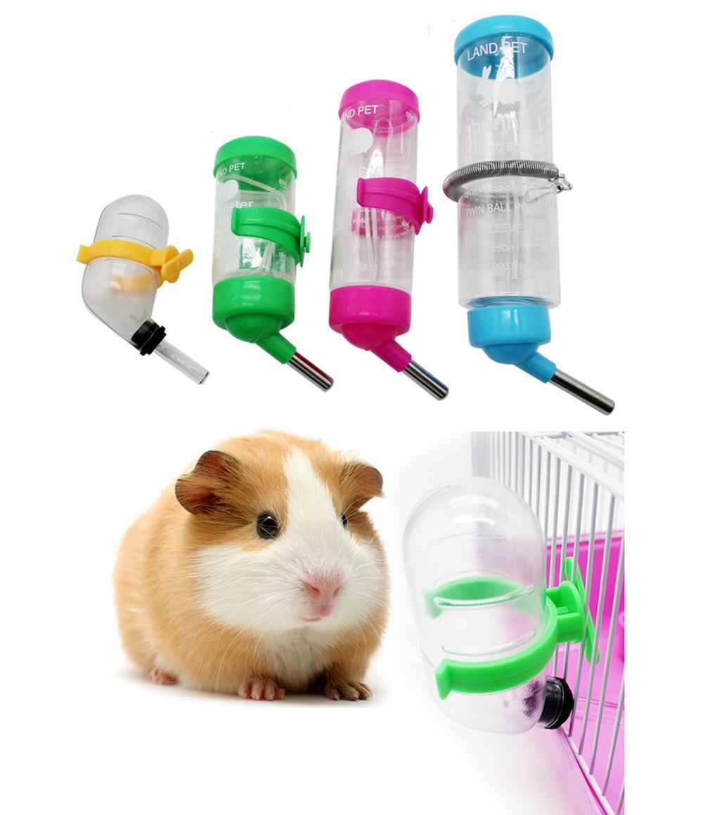 Hamster water bottle holder