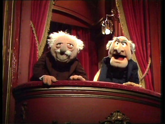 11/15 Competition: Statler & Waldorf