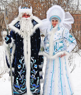 1/3 Competition: Ded Moroz (Дед Мороз)