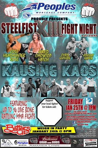 SteelFist Fight Night 13