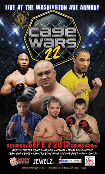Cage Wars 22