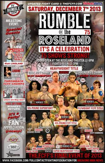 Rumble at the Roseland 75