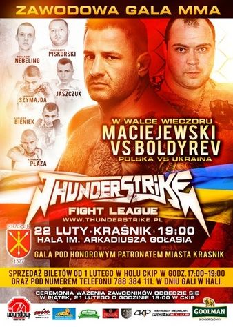 Thunderstrike Fight League 3