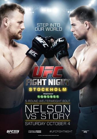 UFC Fight Night 53: Nelson vs. Story UFC_Fight_Night_53_Nelson_vs._Story_Poster