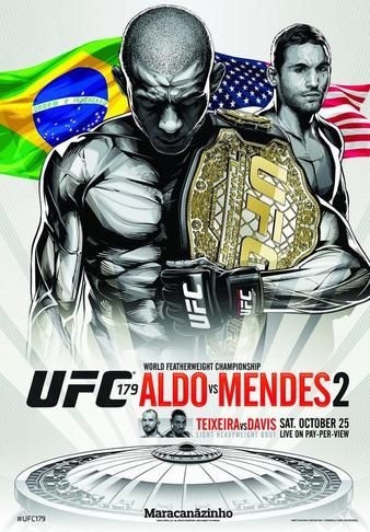 UFC 179: Aldo vs. Mendes 2 Results and Bonuses UFC_179_Aldo_vs._Mendes_2_Poster