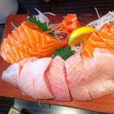 Salmon And Toro Sashimi
