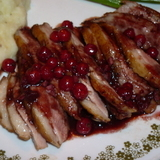 Raspberry Duck Breast
