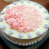 Rose Mango Cake