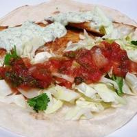 Fish Tacos with Lime-cilantro salsa Recipe