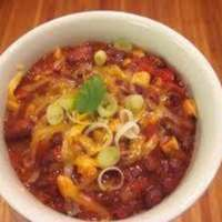 No Guilt Chili (Vegetarian) Crock-Pot Recipe