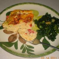 Crustless Ricotta Quiche Recipe